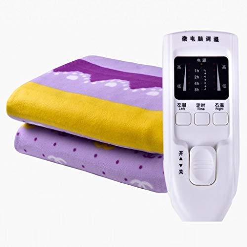 ZXY Calienta camas eléctrico Manta eléctrica doble