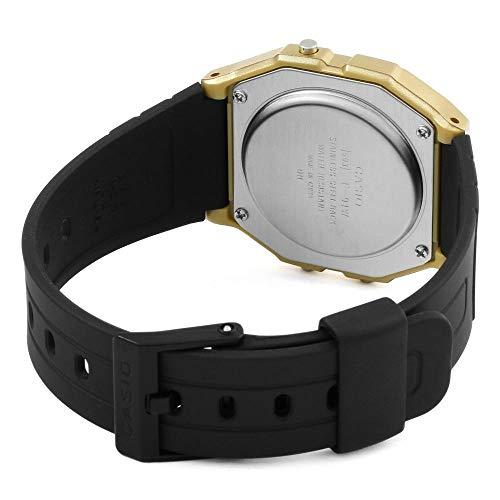 dbe84de167f3 Casio Reloj Digital para Unisex de Cuarzo con Correa en Resina F-91WM-9AEF  ...