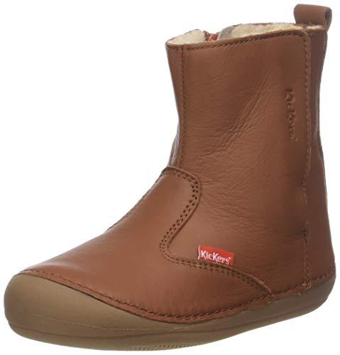 Kickers Baby Jungen SOCOOL Klassische Stiefel, Beige (Camel Cho), 22 EU