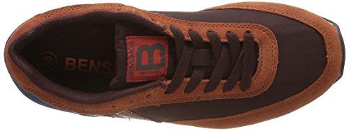 Bensimon Running, Sneaker Basse Donna Rosso (Rouge(403 Bordeaux))
