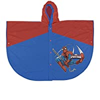 PERLETTI perletti99692 Spiderman Design Poncho Raincoat