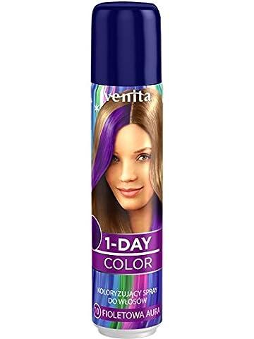 Venita Color de 1Day couleur cheveux Spray violet (Violet) 1050ml