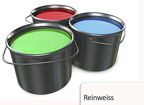 5L Garagenfarbe in Weiss für Halle, Keller, Balkon TÜV-GEPRÜFT Boden Farbe Betonfarbe Fussbodenbeschichtung
