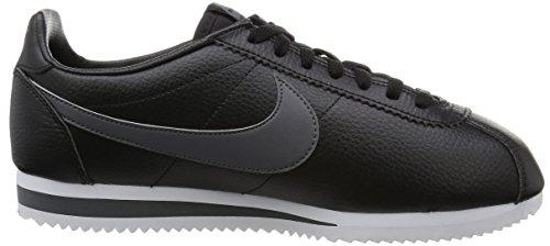 Nike Jungen Classic Cortez Leather Laufschuhe Negro / Gris / Blanco (Black / Dark Grey-White)