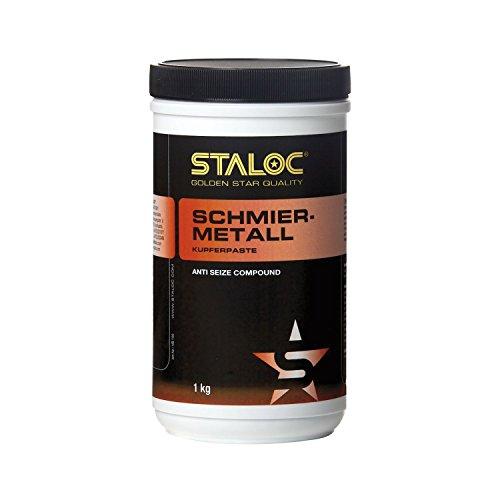Staloc rame ease sbavature metallo | speciale lubrificante a base di rame | anti Seize Compound 1kg