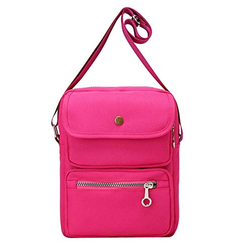 TnXan Canvas Bag Einfache Canvas Umhängetasche Frauen Handtaschen Damen Handtasche Tote Lässige Freizeit Reise Daypack Daypacks (Victoria Secret Kleidung Kleine)