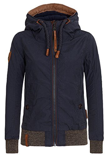 Naketano Female Jacket Schnipp schnapp Pimmel ab Dark Blue, XL