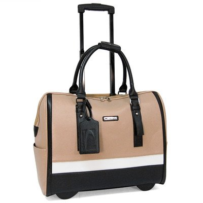 cabrelli-sofia-classic-156-laptop-rollerbrief-taupe-multi
