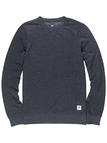 Element Cornell Overdye Crew Neck charcoal heathe