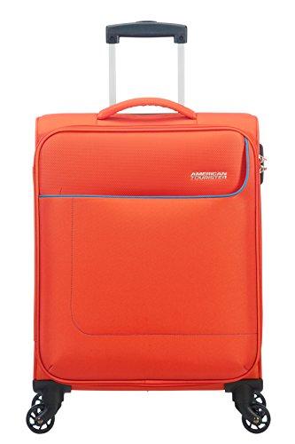 American Tourister Funshine Spinner 55/20 Equipaje de mano, 55 cm, 36 liters, Naranja (Mandarina)