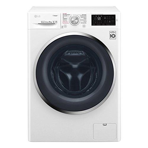 LG F 14WM 9KG Waschmaschine Frontlader / A+++ / 1400UpM / Weiß / Steam Funktion: Die Wellness-Oase für Ihre Kleidung / Smart Diagnosis (Elektro-oase)