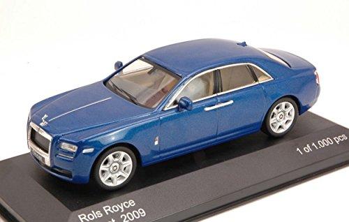 whitebox-wb126-rolls-royce-ghost-2009-blue-143-modellino-die-cast-model