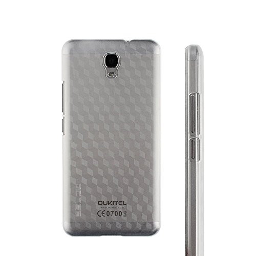 Owbb Hülle für Oukitel K6000 Plus Smartphone Handyhülle Ultradünne PC Kunststoff-Hard Case mit Backcover Design Hochwertige Anti-Wrestling Function Transparent