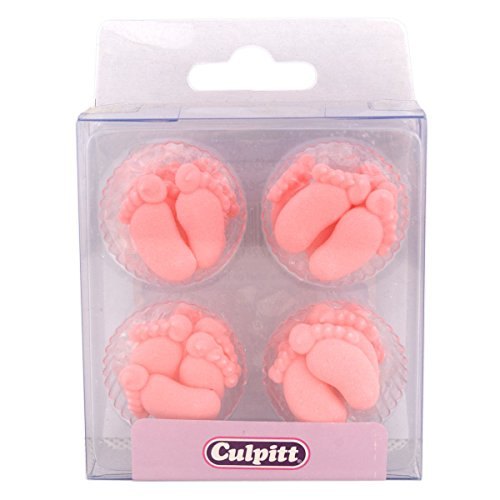 Baby Feet Cupcake Decorations