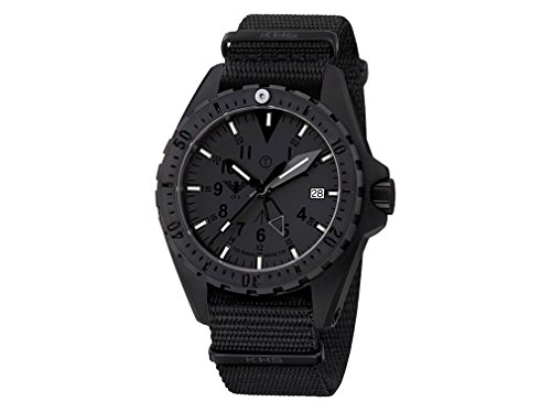 KHS Tactical Mens Watch MissionTimer 3 Titan GMT XITAC | H3 KHS.MTTGXT.NB