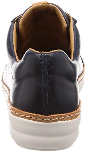 Clarks Damen Amberlee Rosa Sneaker Marineblau