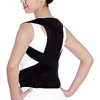 MENGZHEN 1PC Corrector de Postura para Mujeres, Hombres, Espalda, ortesis, Apoyo para el Hombro, Entrenador para aliviar el Dolor, Mejorar la Mala Postura.