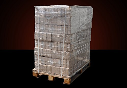▶ Holzbriketts Hartholz-Mix, *0,32€/kg*, 960kg auf Palette, kostenfreie Lieferung, handlich verpackt in 96 Pakete à 10kg, ohne Bindemittel hergestellt, Holz-Briketts, Hartholzbriketts