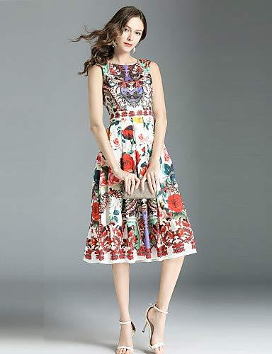 FloralArc Bohostreet Yfltz Femme Robe A La En CielXxl Chic Ligne Imprimé xBeCdro
