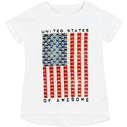 Emoji - Camiseta para niñas - Emoji - 11 - 12 Años
