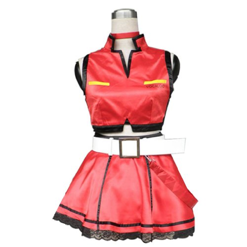 Dream2Reality Vocaloid Family Cosplay Kostuem - Meiko 1st Ver Kid Size Large