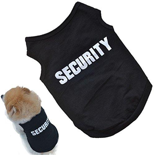 Amison Nuovo cucciolo di maglia dell'animale domestico cane carina moda stampato t-shirt cotone (XS)