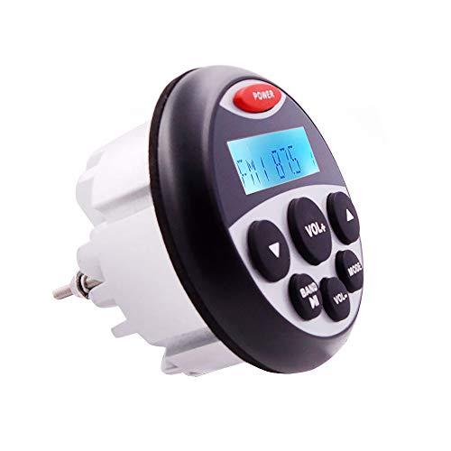 CX Best Sea Audio 3-Zoll-Marine-Lautsprecher beweglicher im Freien Mini-Lautsprecher IP66 Wetter Koaxial Boot Bluetooth Lautsprecher
