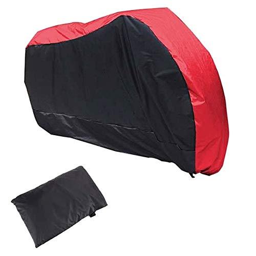 Preisvergleich Produktbild AAHIX Motorrad Regen Staubschutz wasserdichte Moto Roller schutzhülle Für Fahrrad Utility Radfahren Fahrrad Schutz 6 Größe, B, XXXL