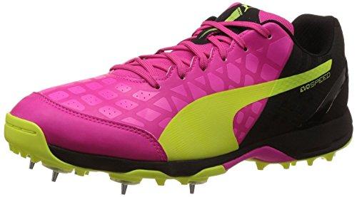 a1f42a9d1b0c Puma 10330805 Men Fluorescent Green And Neon Pink Evospeed Spike ...