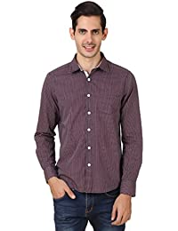 4Stripes Men's Casual Check Shirt