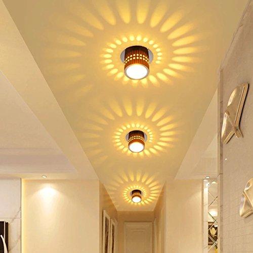 Dimmbar 24W LED Deckenlampe Flurleuchte Deckenleuchte Esszimmer Wandlampe Modern