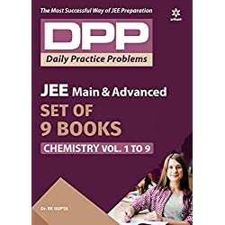 Arihant's Daily Practice Problems (DPP) for Chemistry for JEE Main & Advanced - Vol. 1 to 9 (Set of 9 books)