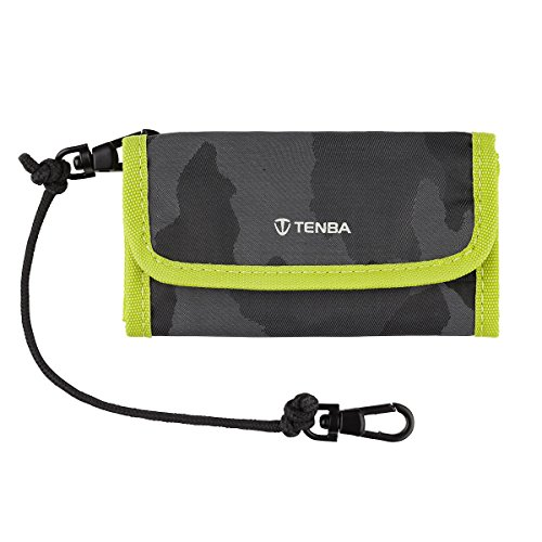 Tenba Tools Reload SD 9 Card Wallet Speicherkartenhülle schwarz camouflage/lime (Large Tenba Messenger Bag)