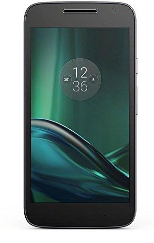 Foto Lenovo  Moto G4 Play 4G, Schermo da 5 pollici, Dual SIM, Fotocamera da 8 MP, 2 GB di RAM, Memoria Interna di 16 GB, Nero [Italia]