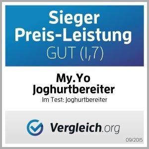 Stromloser My.Yo Joghurtbereiter, Mandarine - 5