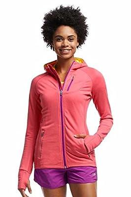 Icebreaker Damen Pullover Jacke Hoodie Quantum Long Sleeve Zip Hood von Icebreaker auf Outdoor Shop