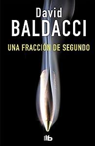 Una fracción de segundo par David Baldacci