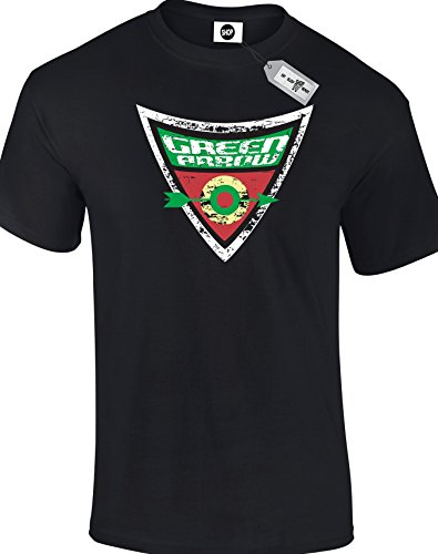 GREEN ARROW Sheldon Cooper The Big Bang Theory inspired Mens adults T-Shirts available in S - 5XL. Free delivery included.