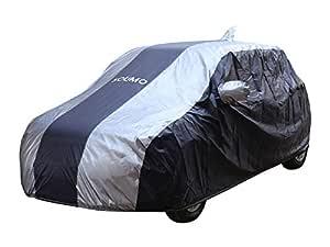 Amazon Brand - Solimo Maruti Swift Water Resistant Car Cover (Dark Blue & Silver)