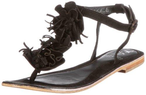 Black Lily kornelia Damen Sandalen/Fashion-Sandalen Schwarz (Black)