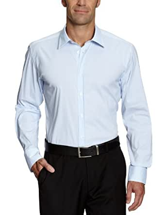 SELECTED HOMME Herren Freizeithemd Slim Fit 16016343 One Peter Canbera shirt ls, Gr. 50 (M), Blau (Light Blue)