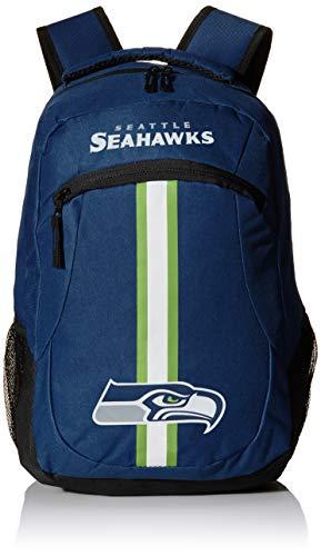 Forever Collectibles NFL Seattle Seahawks Action Rucksack, Teamfarbe, Einheitsgröße