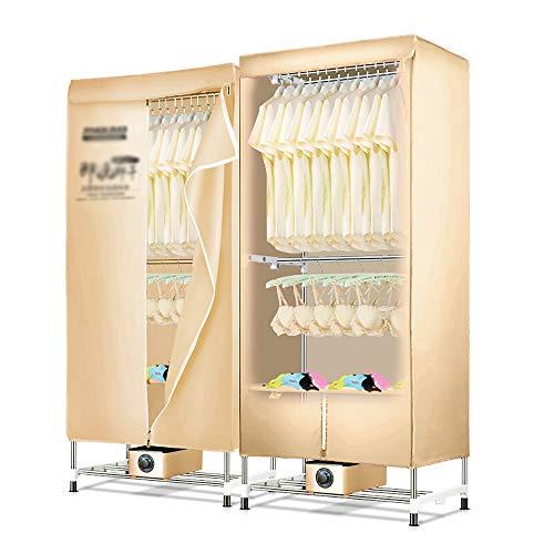 Caldo armadio asciugatura ad aria,vestiti asciugatore elettrico, 1200wsilenzioso macchina asciugatura rapida,tre strati vestiti riscaldamento a risparmio energetico stendibiancheria,economia di spaz