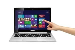 Asus S301LA-C1074H 33,8 cm (13,3 Zoll) Notebook (Intel Core i5 4200U, 1,6GHz, 8GB RAM, 500GB HDD, Intel HD 4000, Win 8) silber