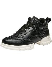 b32078cd5956e Logobeing Zapatos de Mujer Calzado Deportivo de Hip Hop con Parte Inferior  Gruesa Zapatillas Transpirables de