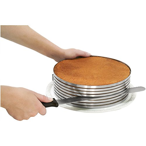 STAMPO ANELLO TAGLIA TORTA PAN DI SPAGNA, TAGLIARE LA TORTA