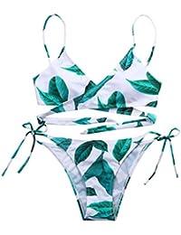 Monokini Bikini Badeanzug Blau Gold Schwarz Lila Glitzer Effekt Größe 36 38 40
