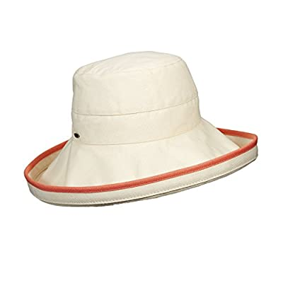 UV hat for women from Scala - Grapefruit