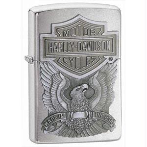 Zippo-Feuerzeug Harley Davidson Relief Made in USA Garantie Zippo Lebenslang (Zippo Made In Usa Feuerzeug)