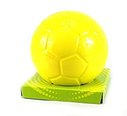 Sharky Toys Premium Starter Jr. Soft Toy Foam Soccer Ball, Non Toxic Foam, Floats In Water For Indoor And Outdoor Use